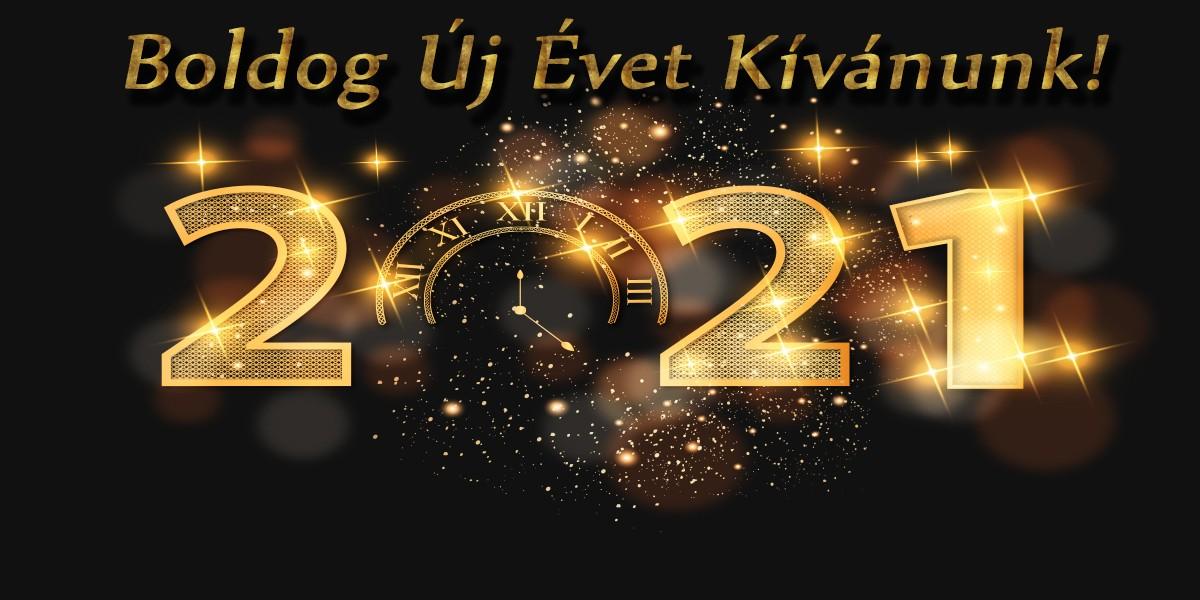Újévi üdvözlet